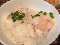 日式早餐之組合《溫泉蛋飯》