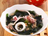 墨魚紫菜蝦米湯《營養師的日日好湯》 補腎