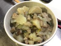 北海道白醬奶油洋芋豬頰心蔬菜燉飯