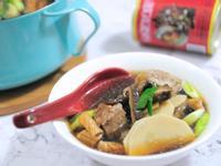 經典年菜:魷魚螺肉蒜湯