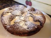 巧克力蘋果蛋糕
