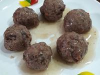 蒸牛肉丸 牛肉獅子頭 常備菜 年菜宴客菜