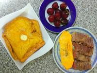 一個人的早午餐~牛排法式吐司