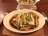 香菇蒸鱈魚