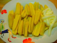 涼拌玉米筍