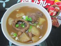 清燉咖哩牛肉湯