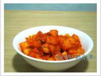 韓式白蘿蔔泡菜-簡易版