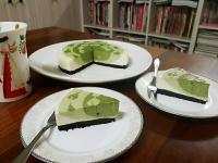 抹茶漸層乳酪蛋糕