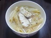 味噌斜管湯麵