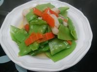 蟹肉炒荷蘭豆