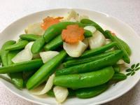 鮮百合炒豆