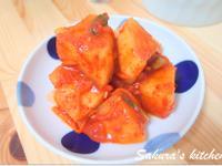♥我的手作料理♥ 韓式蘿蔔泡菜