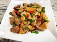 冬筍滷松阪豬肉(水波爐料理)
