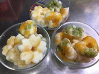 優格水果薄脆冰