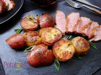 美國馬鈴薯~鴨油蔥香煎馬鈴薯