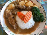 日式咖哩牛