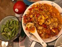 超簡單😍番茄絞肉炒蛋