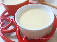香滑鮮奶雞蛋布丁 簡易。營養家常甜點