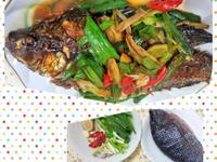 蒜燒吳郭魚