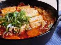 泡菜豆腐豬肉鍋~一鍋到底超簡單!