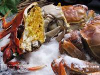 日式鹽烤六月黃大閘蟹
