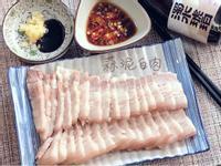 蒜泥白肉之特調雙醬