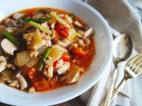 番茄鮮蔬炒雞胸肉
