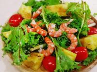 【厚生廚房】彩蔬鮮蝦油醋沙拉