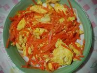 超簡單~紅蘿蔔炒蛋