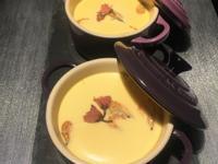 櫻花茶碗蒸(昆布鰹魚清湯)
