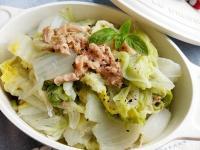 蒜香鮪魚白菜〞簡易家常菜