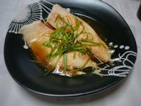 蔥香蒸鯛魚