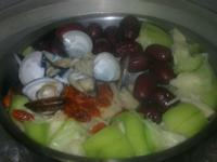 紅棗蛤粒絲瓜湯