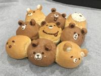 不失敗的親子同做熊熊手撕麵包