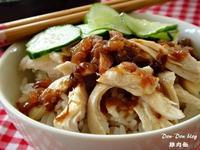 簡易版雞肉飯(附糖醋小黃瓜)