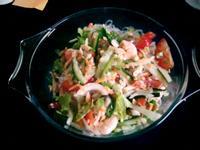泰式-鮮蝦冬粉沙拉