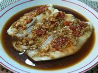 蒜味鯛魚♡