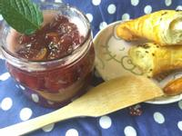 自製香甜桃莓果醬