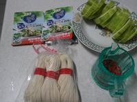 康寶鮮味炒手(鰹魚口味)之絲瓜麵線(二)