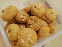 (減糖無油無粉蛋奶素食譜)燕麥花生軟餅乾