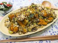 南瓜雞肉藜麥飯
