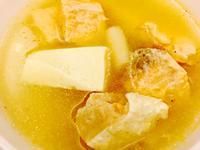 鮭魚豆腐味噌湯🐟