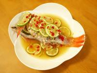 不辣的清蒸檸檬魚