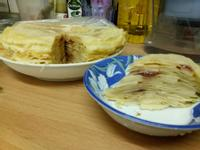 蘋果千層蛋糕