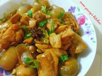 香蔥油酒香燒雞簡易家常菜。冬日暖意