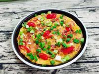 水波爐番茄烘蛋-一鍋煮到底