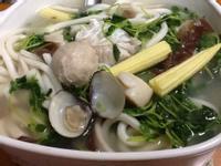 健康海鮮烏龍麵