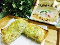 濃郁奶香泡麵PIZZA【台酒白酒帕式達】