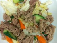 黑胡椒豬肉片佐時蔬
