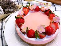 👩🍳免烤箱~草莓起士蛋糕